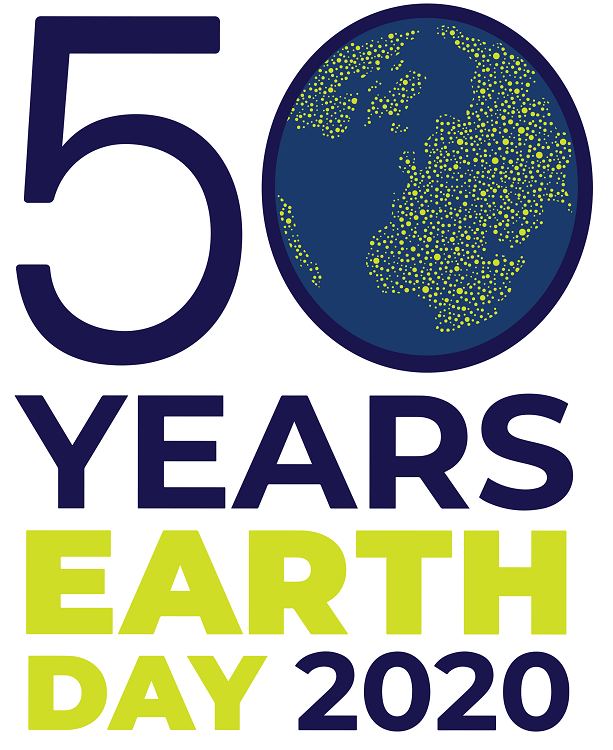 50 years of Earth Day on the 22nd of April 2020